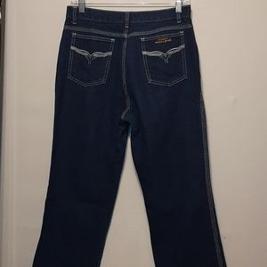 VINTAGE 70S RIGOLETTO HIGHRISE BOOT CUT JEANS